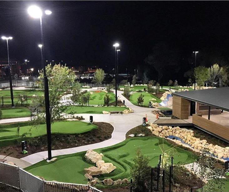 Mini Golf Construction Costs Australia and SE Asia