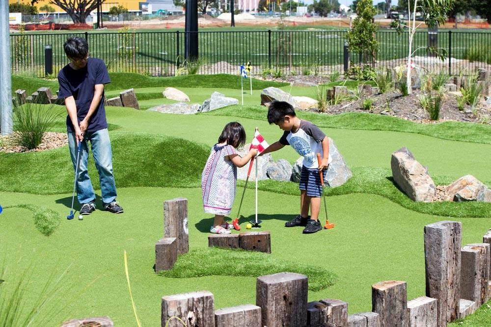 Mini Golf Construction, Miniature Golf Courses Construction- Australia, SE Asia