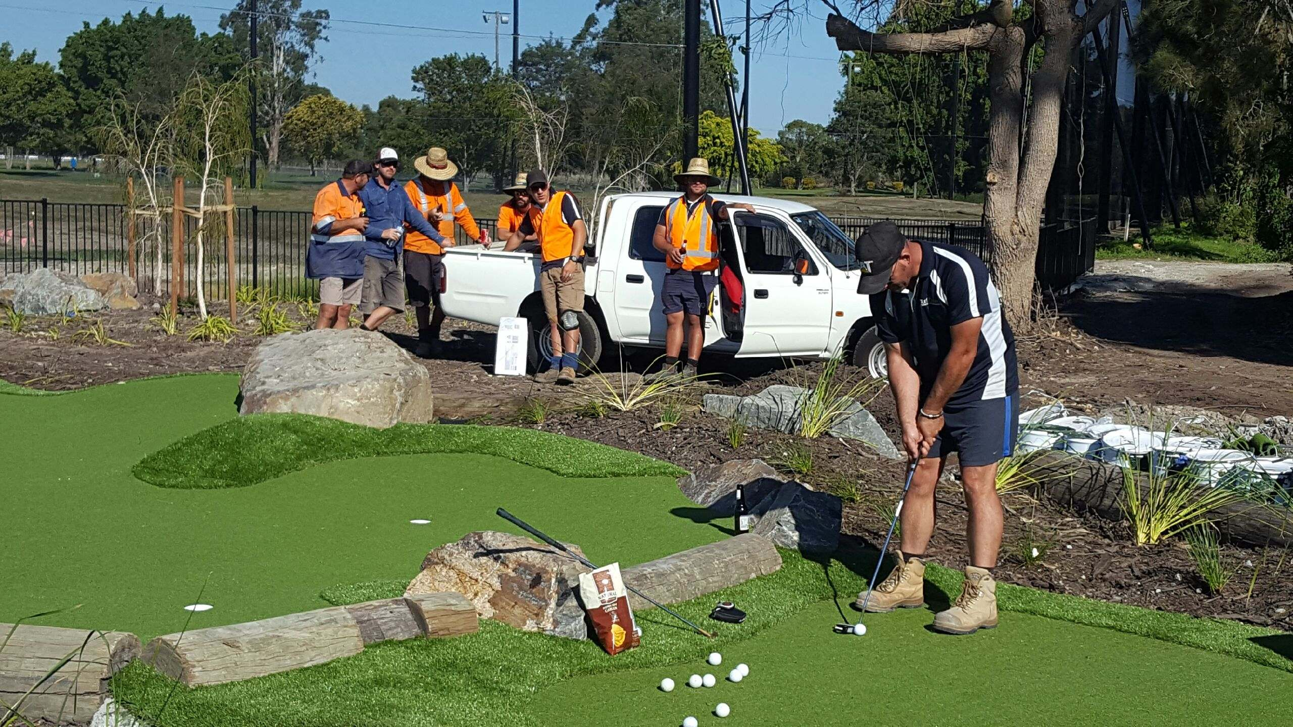 Mini Golf Construction, Miniature Golf Courses - Australia, SE Asia