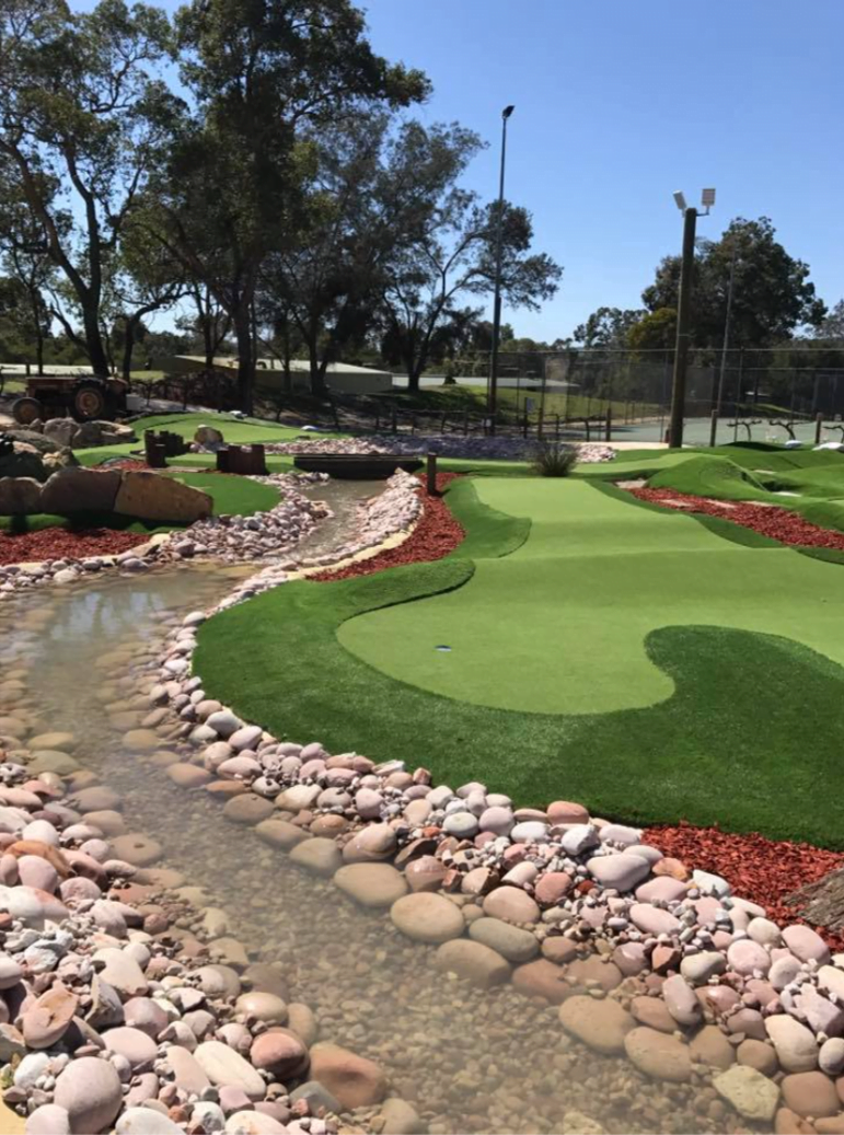 Building a Mini Golf Course at a Holiday Park Increases Business