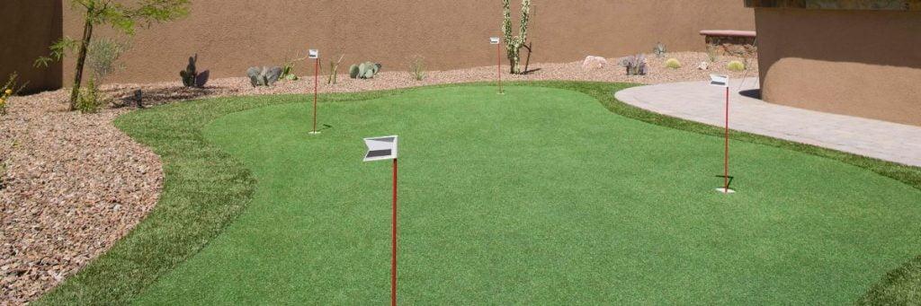 Mini Golf Creations backyard putting green